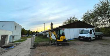"""Sportzentrum """"Im Gebreite"""" erhält neues Funktionsgebäude"""